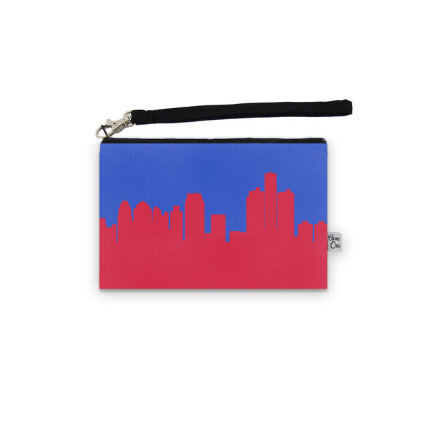 Detroit MI Game Day Wristlet - Stadium Approved - CUSTOMIZE IT!