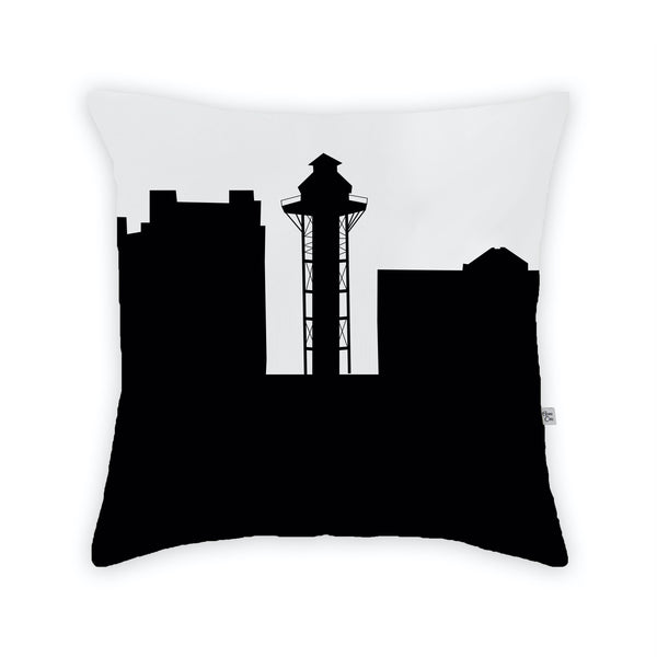 Erie Large Throw Pillow by Anne Cate