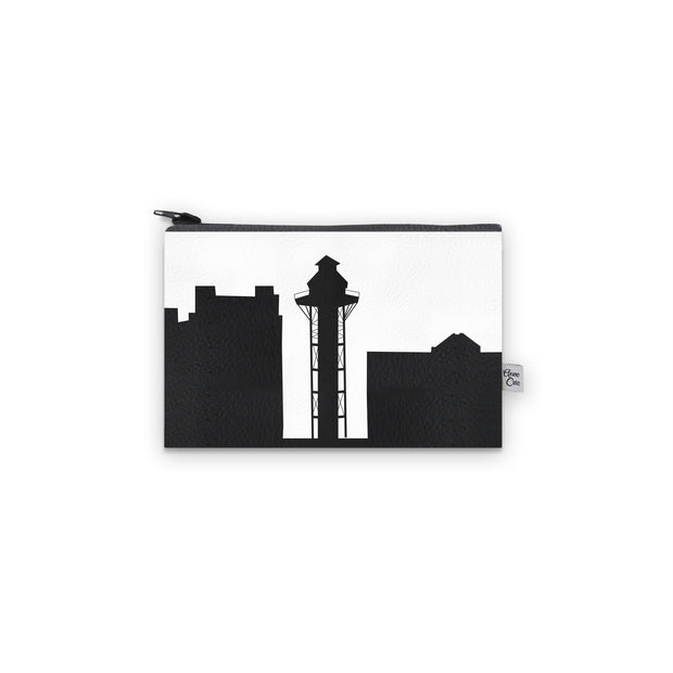 Erie PA Skyline Mini Wallet (Vegan Leather)