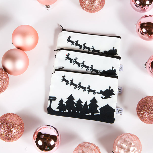 Holiday Exclusive: North Pole Skyline Mini Purse