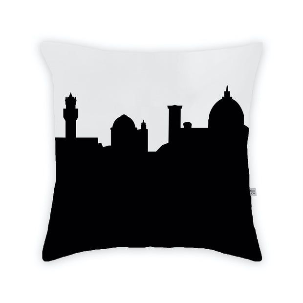 Florence Italy Skyline Large Throw Pillow