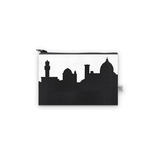 Florence Italy Skyline Mini Wallet (Vegan Leather)