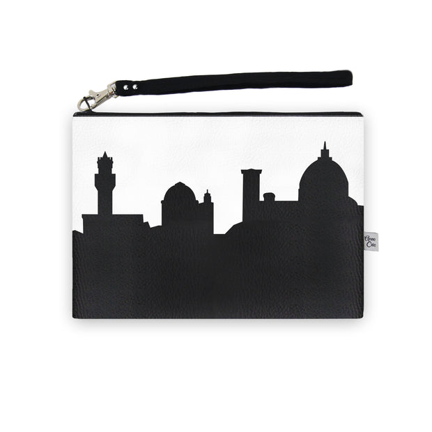 Florence Italy Skyline Wristlet Clutch (Vegan Leather)