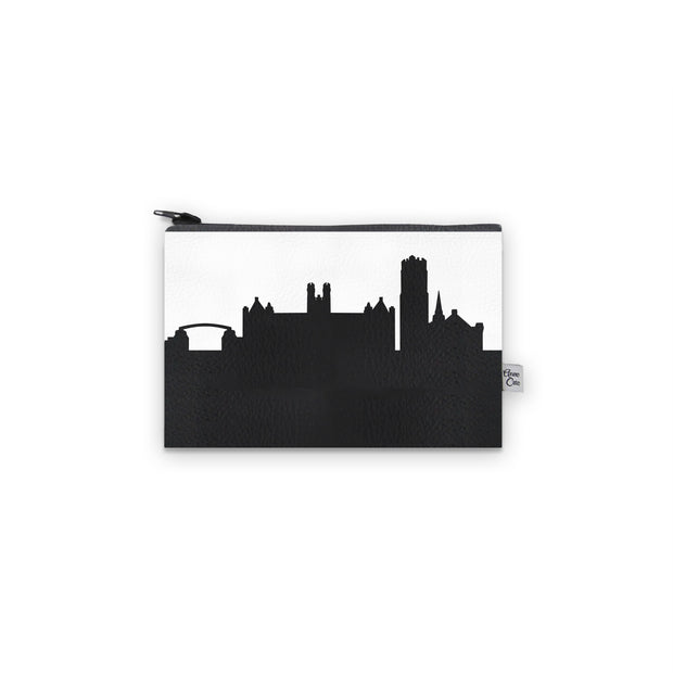 Gainesville FL Skyline Mini Wallet (Vegan Leather)