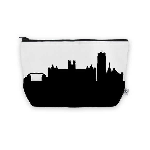 Gainesville FL Skyline Cosmetic Makeup Bag