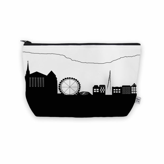 Geneva Switzerland Skyline Cosmetic Makeup Bag