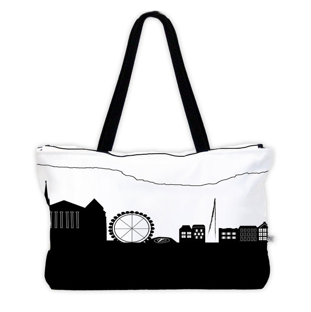 Geneva Switzerland Skyline Weekender Tote