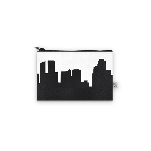 Grand Rapids MI Skyline Mini Wallet (Vegan Leather)