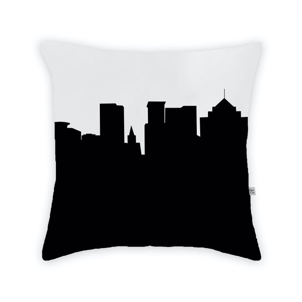 Greenville SC Skyline Large Throw Pillow