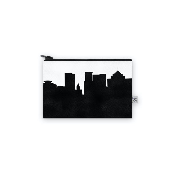 Greenville SC Skyline Mini Wallet (Vegan Leather)
