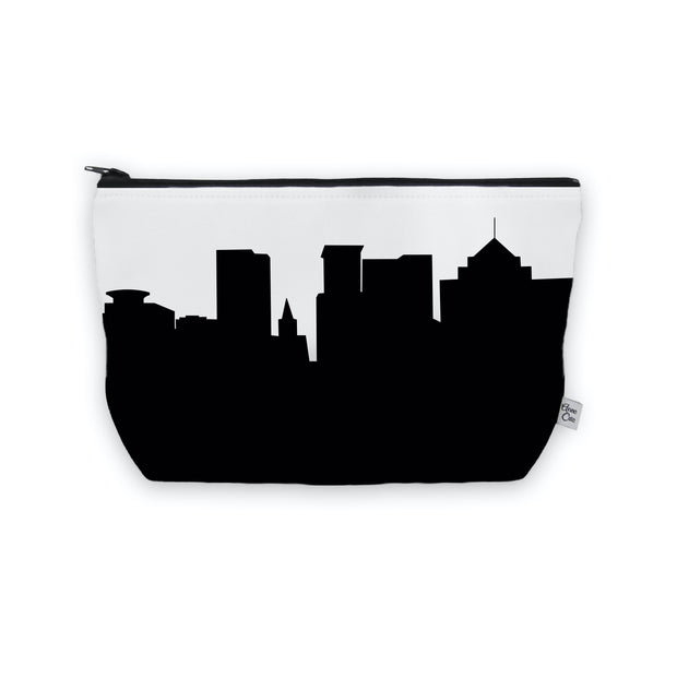 Greenville SC Skyline Cosmetic Makeup Bag