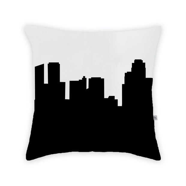 Grand Rapids MI Skyline Large Throw Pillow