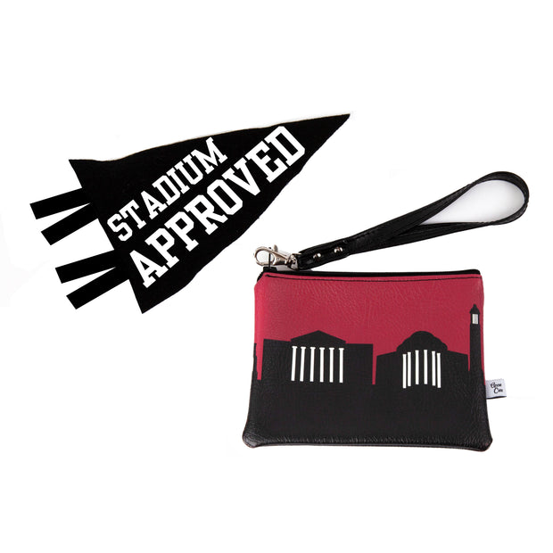 Baltimore MD Game Day Wristlet - Stadium Approved - CUSTOMIZE IT!