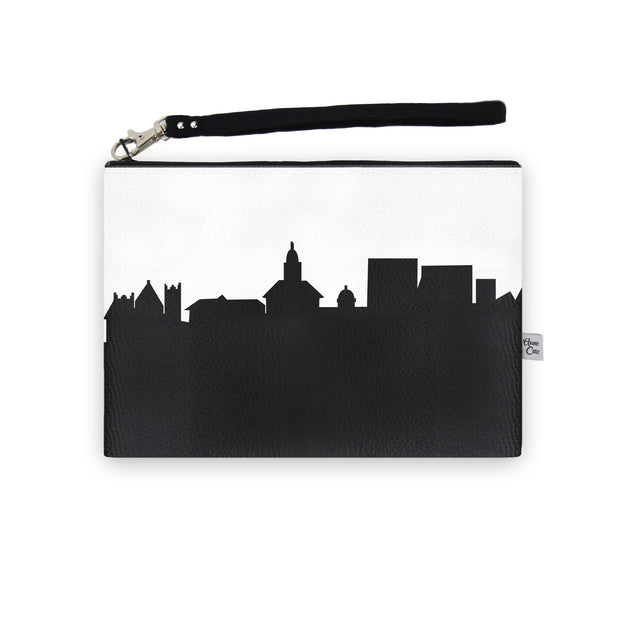 Harrisonburg VA Skyline Wristlet Clutch (Vegan Leather)