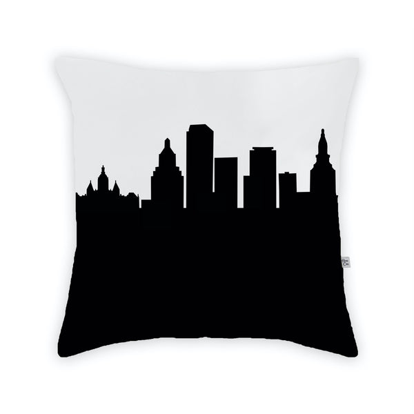 Hartford Large Throw Pillow by Anne Cate