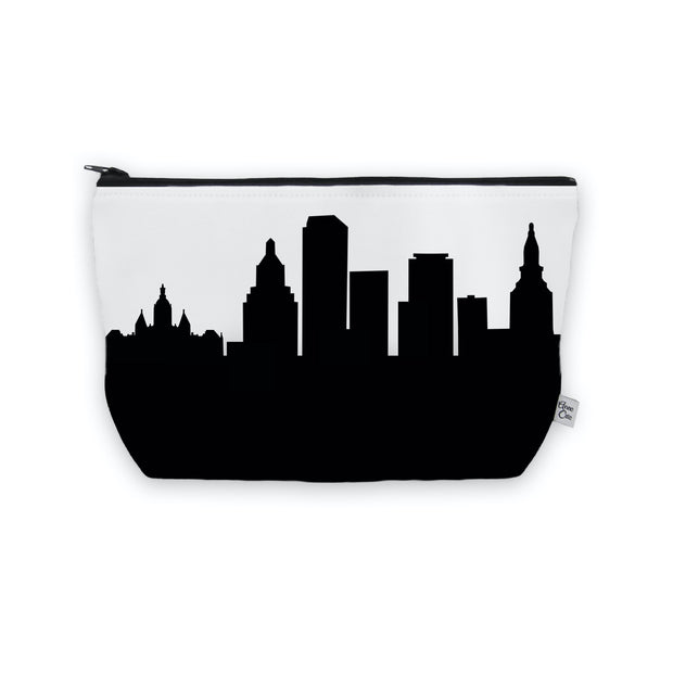 Hartford CT Skyline Cosmetic Makeup Bag