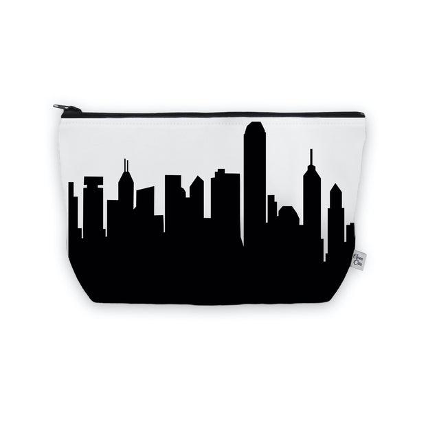 Hong Kong China Skyline Cosmetic Makeup Bag