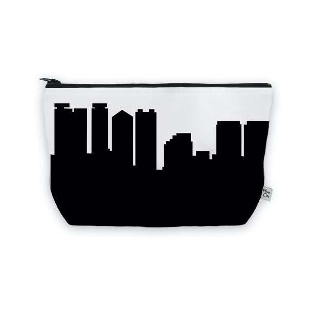 Honolulu HI Skyline Cosmetic Makeup Bag