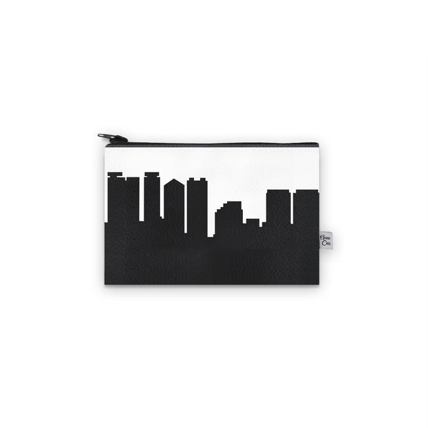Honolulu HI Skyline Mini Wallet (Vegan Leather)
