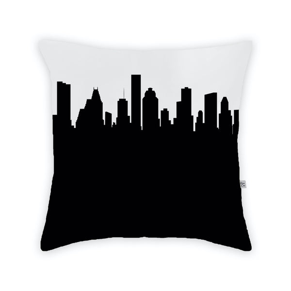 Houston Large Throw Pillow by Anne Cate