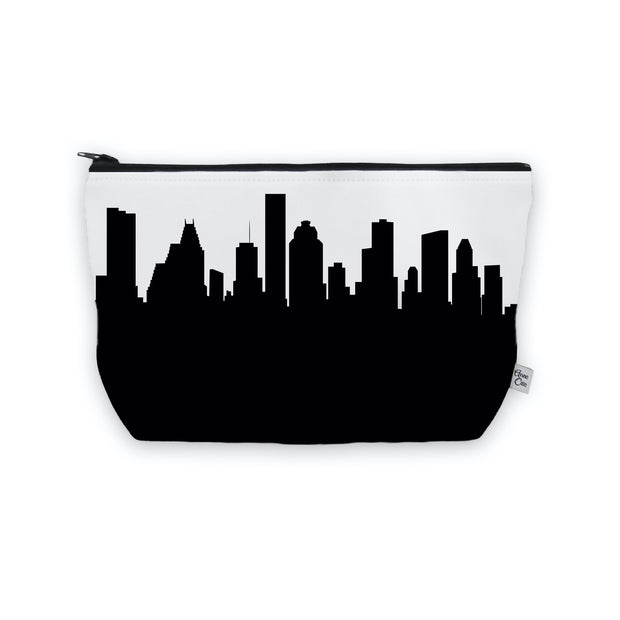 Houston Texas Skyline Cosmetic Makeup Bag