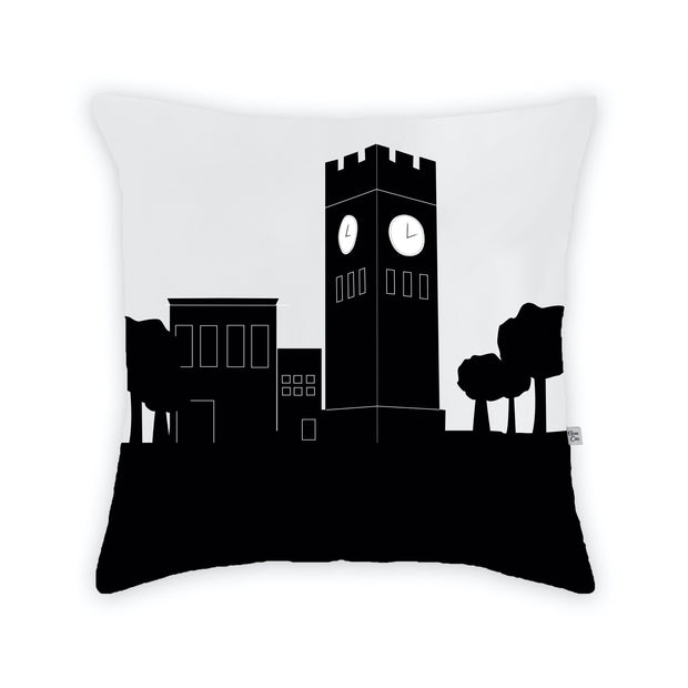 Hudson Ohio Skyline Large Throw Pillow