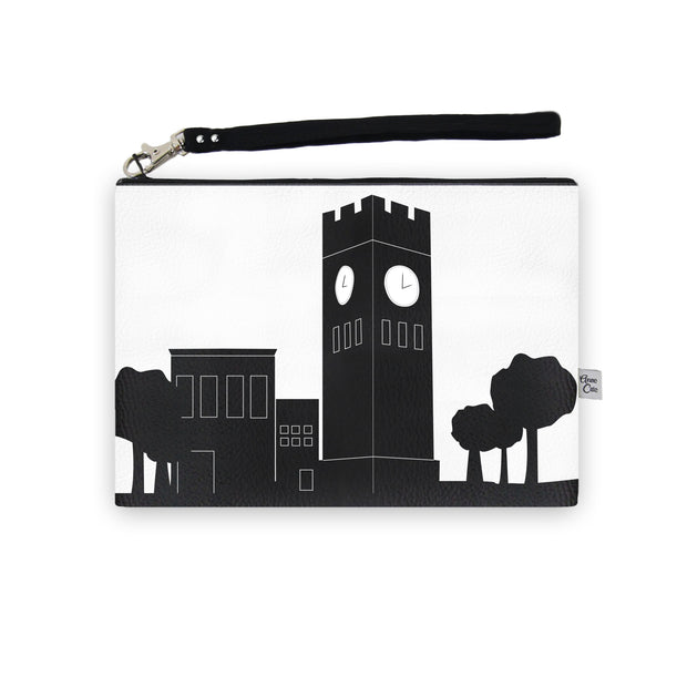 Hudson Ohio Skyline Wristlet Clutch (Vegan Leather)