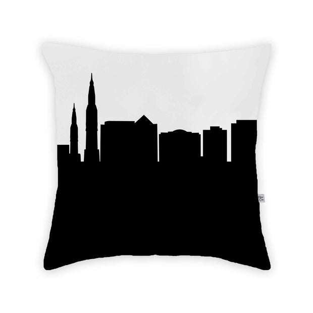 Huntsville AL Skyline Large Throw Pillow