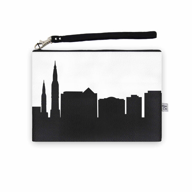 Huntsville AL Skyline Wristlet Clutch (Vegan Leather)