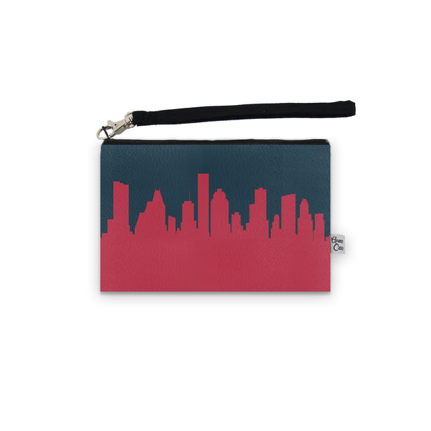 Houston TX Game Day Wristlet - Stadium Approved - CUSTOMIZE IT!