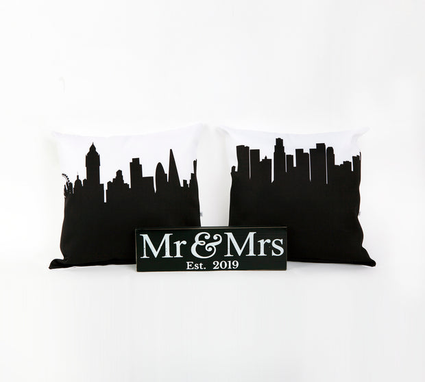 Newlywed Throw Pillow