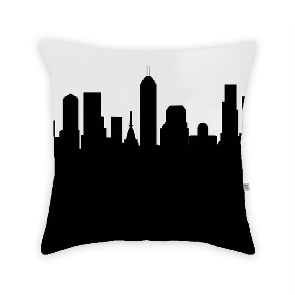 Indianapolis Large Throw Pillow by Anne Cate