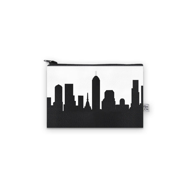 Indianapolis IN Skyline Mini Wallet (Vegan Leather)