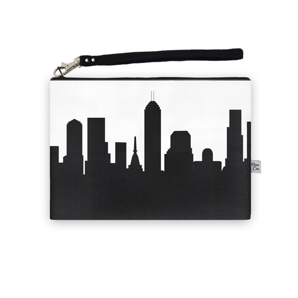 Skyline Wristlet Clutch (Vegan Leather)