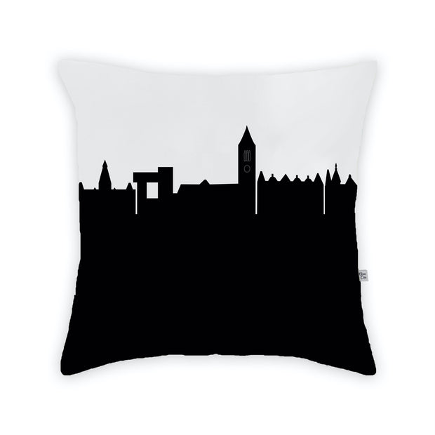 Ithaca NY Skyline Large Throw Pillow