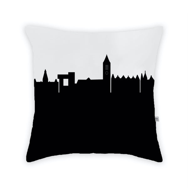 Ithica Large Throw Pillow by Anne Cate