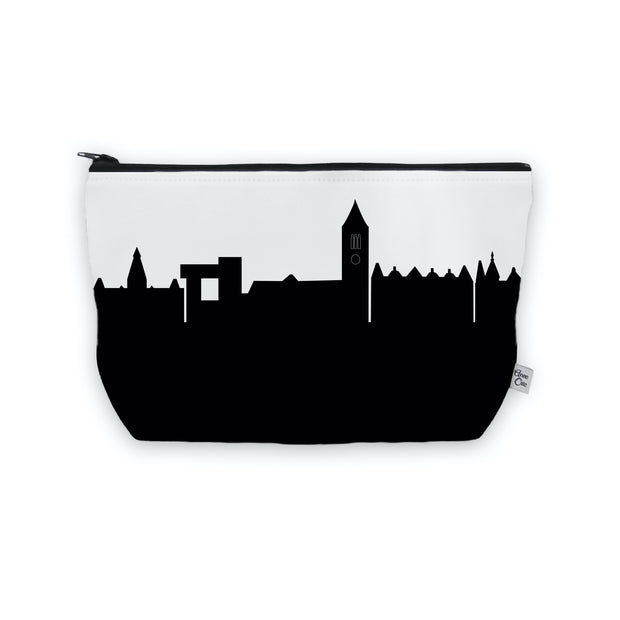 Ithaca NY Skyline Cosmetic Makeup Bag