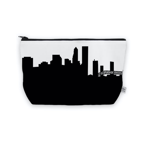 Jacksonville FL Skyline Cosmetic Makeup Bag