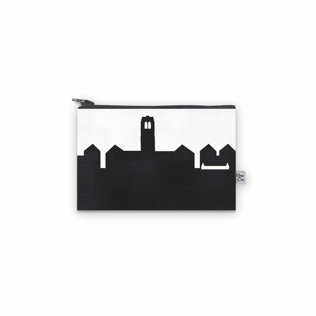 University Heights OH (John Carroll Univ.) Skyline Mini Wallet (Vegan Leather)