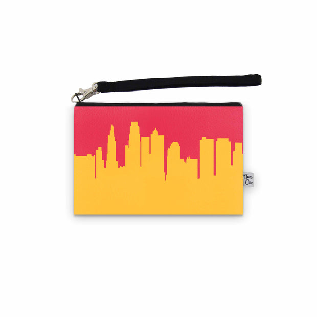 Kansas City MO Game Day Wristlet - Stadium Approved - CUSTOMIZE IT!