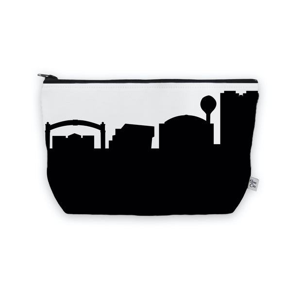Kent OH Skyline Cosmetic Makeup Bag