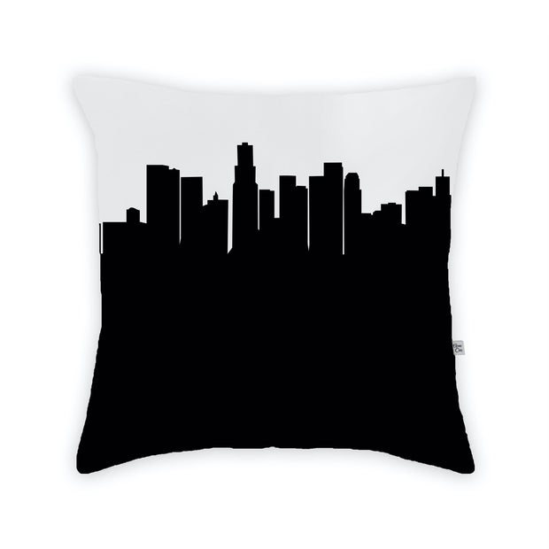 Los Angeles CA Skyline Large Throw Pillow