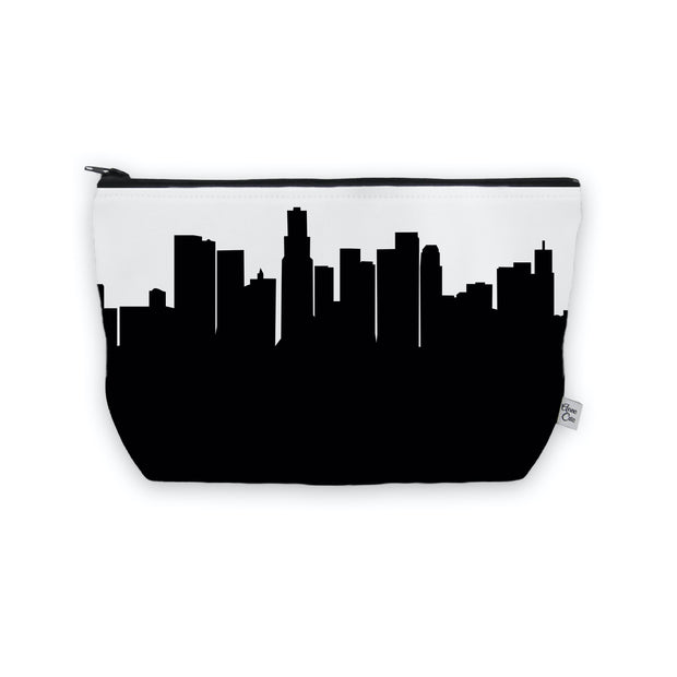 Los Angeles CA Skyline Cosmetic Makeup Bag