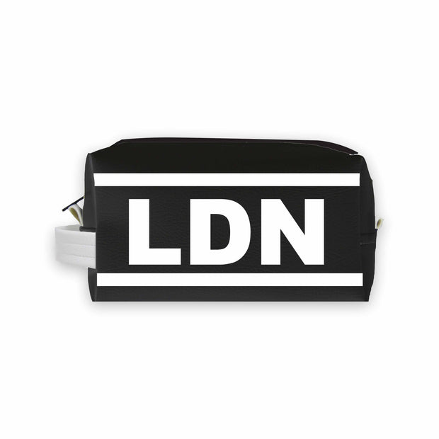 LDN (London) Travel Dopp Kit Toiletry Bag