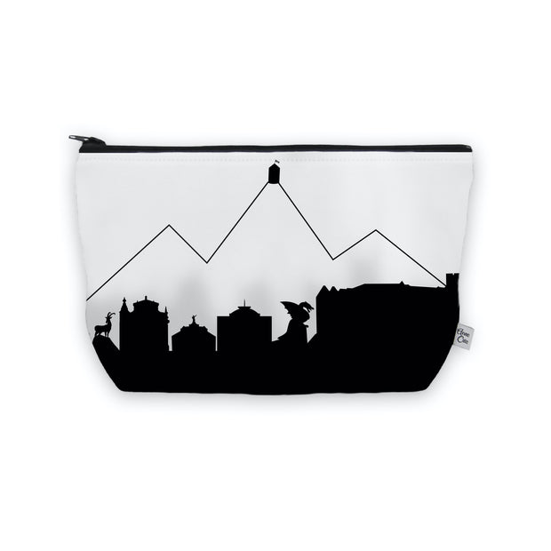 Ljubljana Slovenia Skyline Cosmetic Makeup Bag