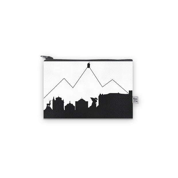Ljubljana Slovenia Skyline Mini Wallet (Vegan Leather)