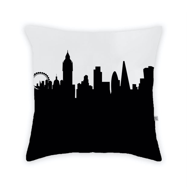 London England Skyline Large Throw Pillow