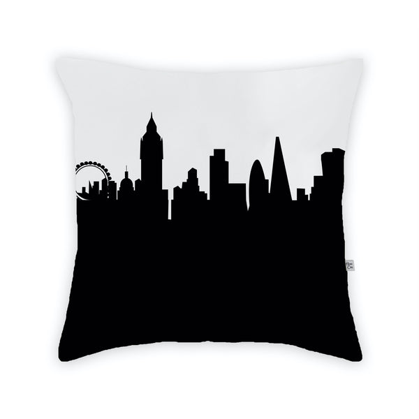 London Large Throw Pillow by Anne Cate