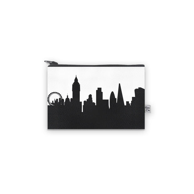 London England Skyline Mini Wallet (Vegan Leather)