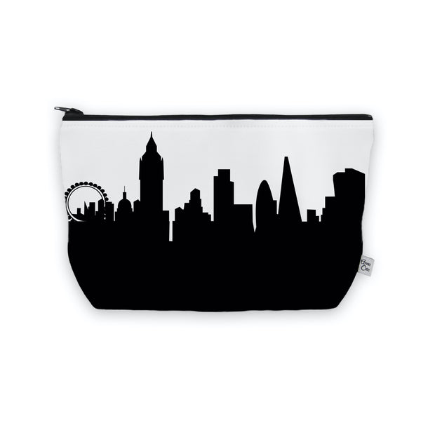London England Skyline Cosmetic Makeup Bag